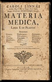 Materia Medica and Books