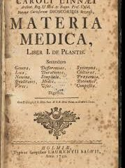 A COMMENT ON OUR MATERIA MEDICA